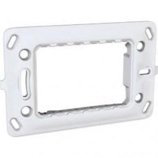 electrice vrancea - suport aparataj, 3 module, schneider, unica - schneider - mgu7.103.p