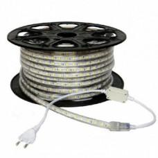 electrice vrancea - banda led 220v 60led/m 14.4w/m ip65 r5050 6400k - odosun - od6653
