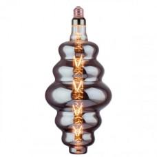 Bec cu filament LED decorativ,ORIGAMI, cu dulie E27, 8W